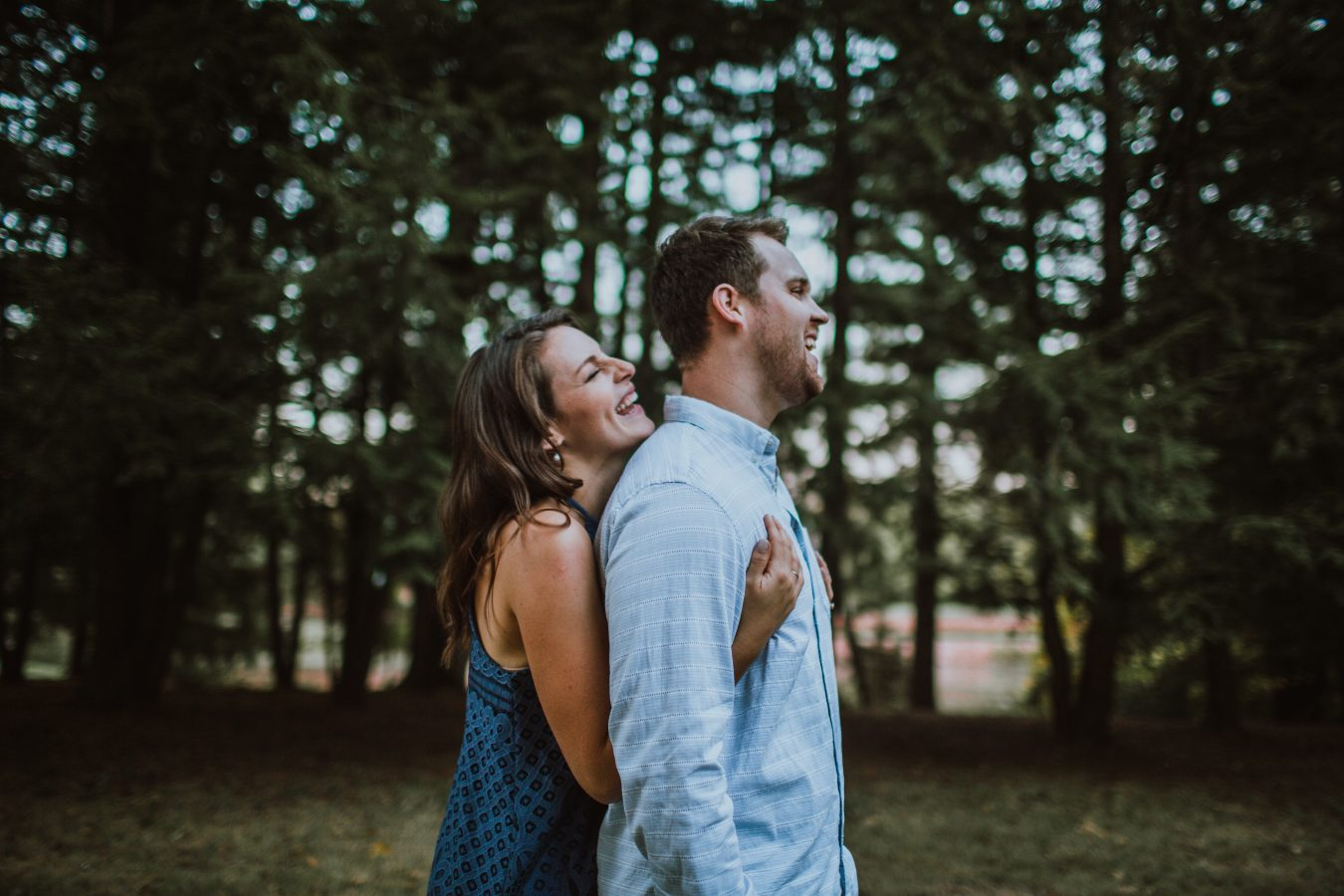 Allerton Park Engagement // Jessica + Lyle - Destination Wedding Photographer // Brad Hart