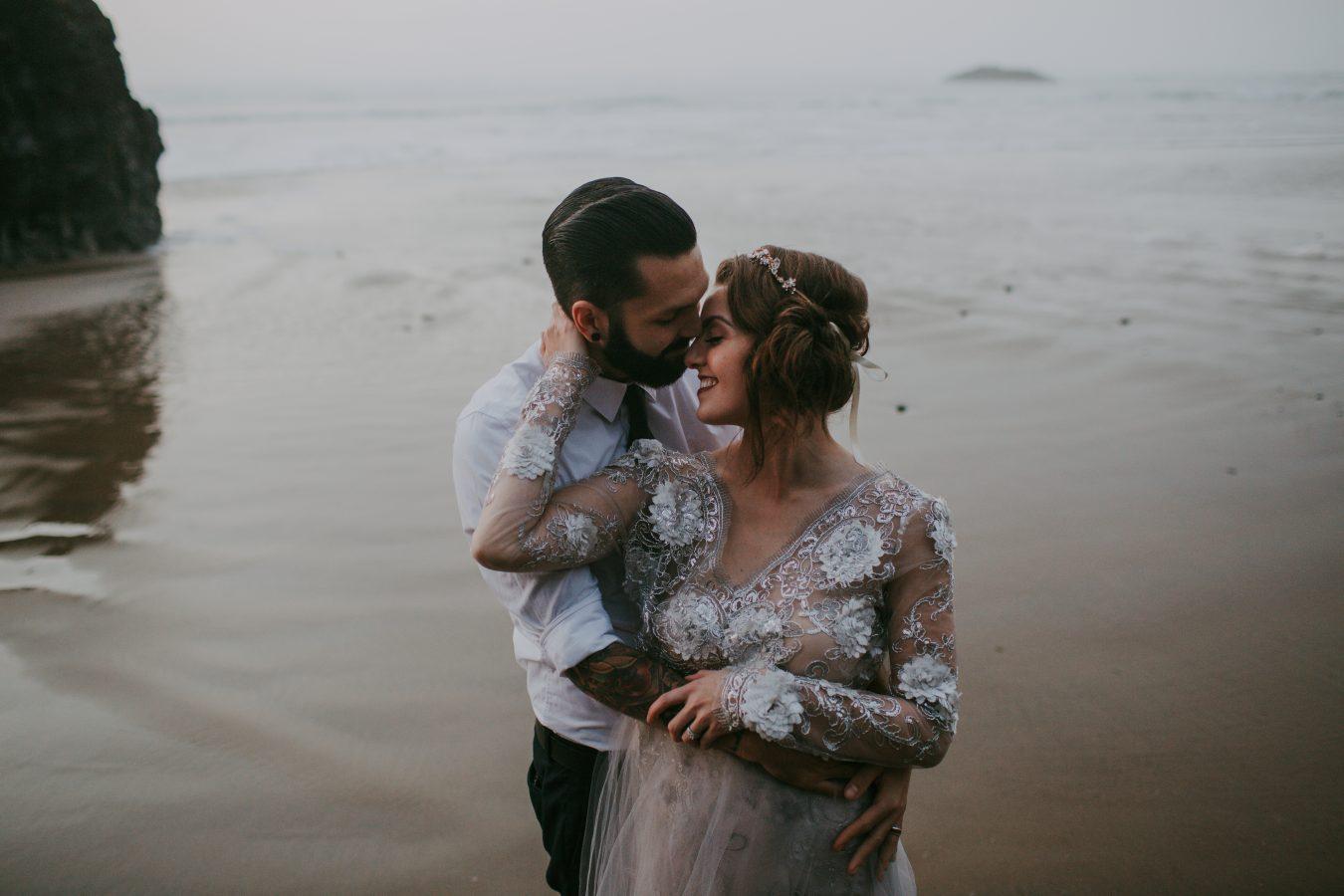 JL4A9701Canon Beach Elopement // Stephanie + Dallas - Destination Wedding Photographer // Brad Hart